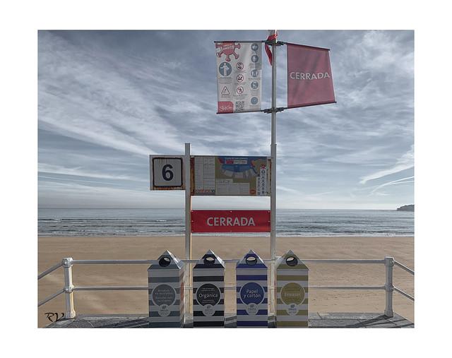 El verano del Covid19 - Playa Cerrada / Covid19 Summer - Closed Beach