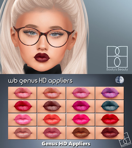 *Booty's Beauty* WB Genus HD Lips Group Gift & Freebie