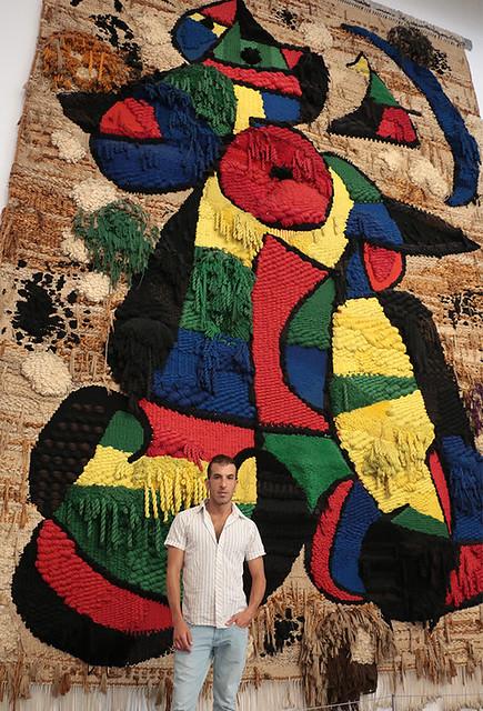 art assaf henigsberg barcelona אסף הניגסברג ברצלונה אומנות בברצלונה  מוזיאון חואן מירו  ספרד  מוזיאונים לאמנות ביקור גלריות אמנות גלריה אומנות מודרנית עכשווית ספרדית