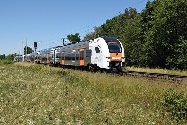 462023 + 462017 (RE5 28517), Brühl-Schwadorf, 24/06/2020
