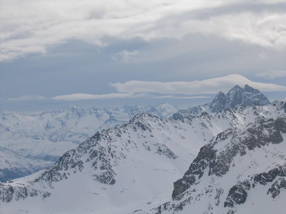 Piz Surgonda Albula Alpen Švýcarsko foto 05