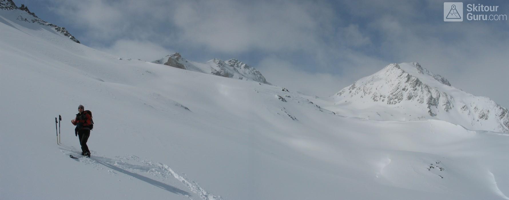 Piz Surgonda Albula Alpen Schweiz panorama 01