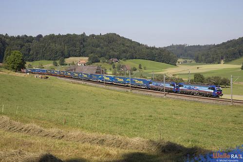 193 524 + 193 527 . SBB Cargo . Burgdorf . 25.06.20.