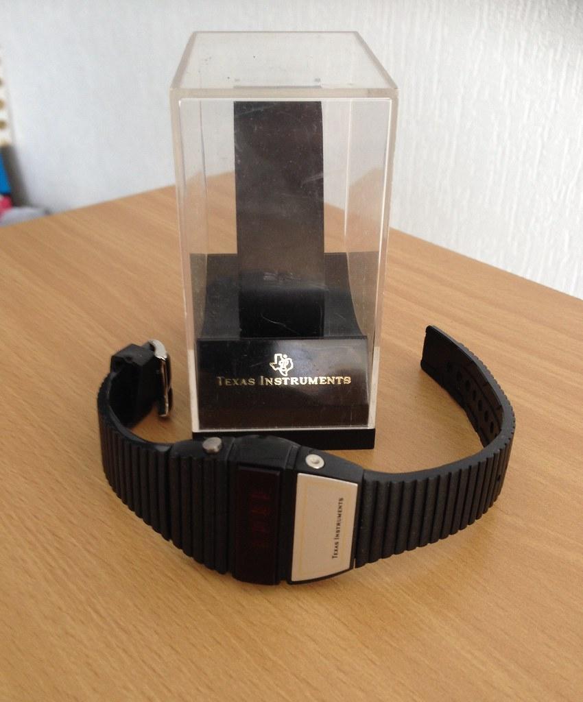 Texas Instrument TI-503-4 LED Watch