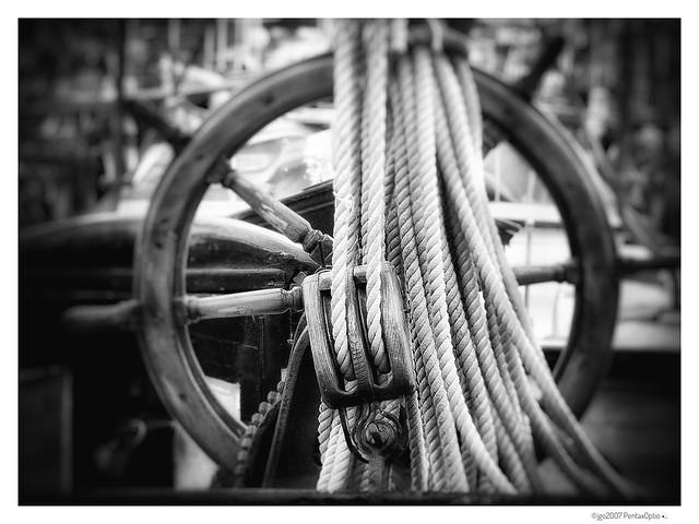 Ropes & wheel