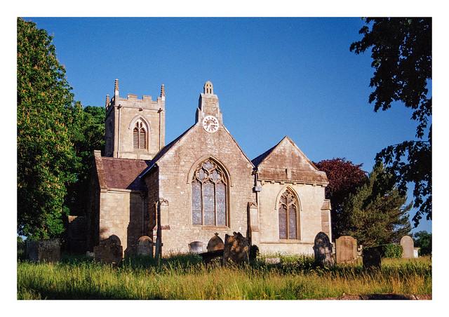 The church at Thorpe Salvin
