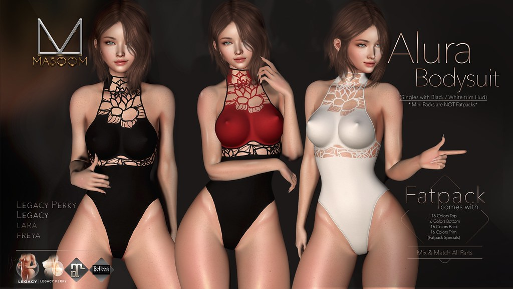 [[ Masoom ]] Alura Bodysuit @ Black Fair