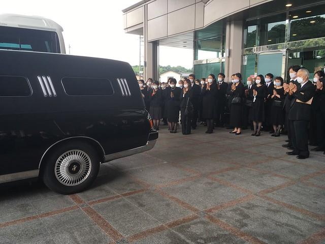 久世建二先生の葬儀に参列してきました