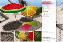 Sway's [Naolin] Beach Umbrella . Fruity | SSS