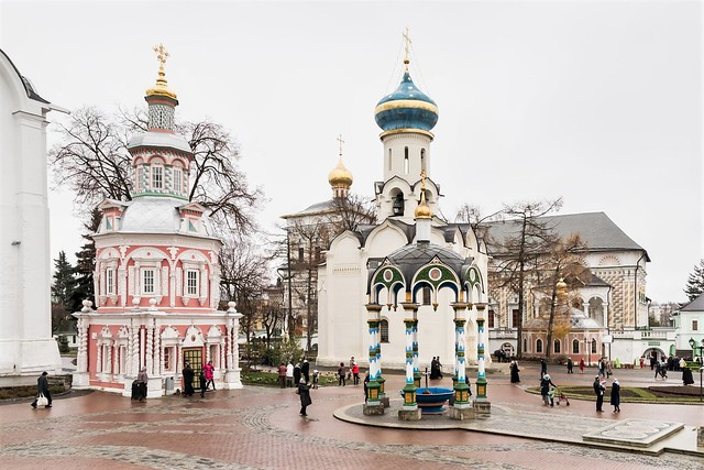 Sergiev Posad, Monastery.