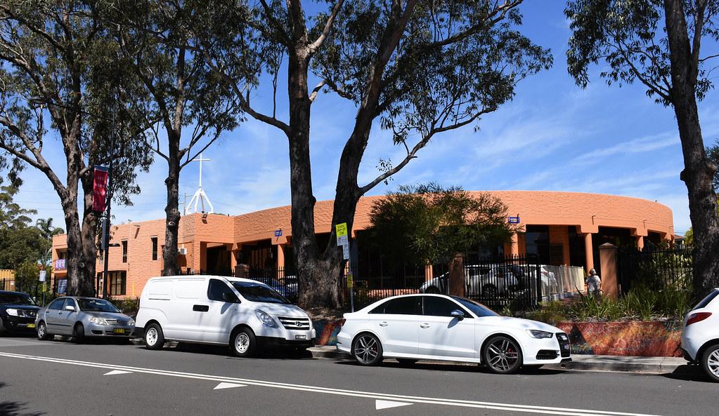 Gymea Catholic Church, Gymea, Sydney, NSW.