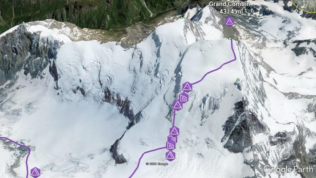 Grand Combin Walliser Alpen / Alpes valaisannes Schweiz foto 02