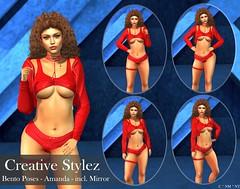 Creative Stylez - Bento Poses - Amanda -
