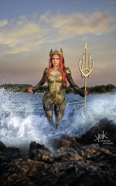 Kirke Cosplay's Mera (by SpirosK photography): Master of Waves