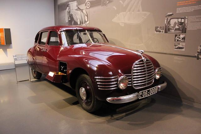 1948 Horch 930 S Stromlinienlimousine   August Horch Museum Zwickau 03.07.2020