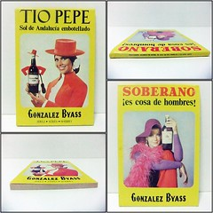 "BLOC DE NOTAS ""GONZALEZ BYASS"" - TÍO PEPE / SOBERANO"