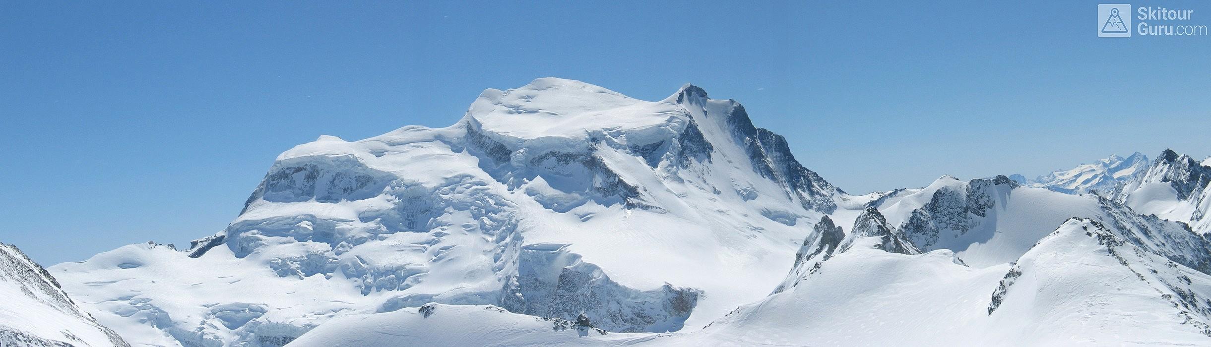 Grand Combin Walliser Alpen / Alpes valaisannes Schweiz panorama 04