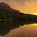 3. Juuli 2020 - 21:04 - Sunset, massif de Roquebrune sur le lac, 3 juillet 2020