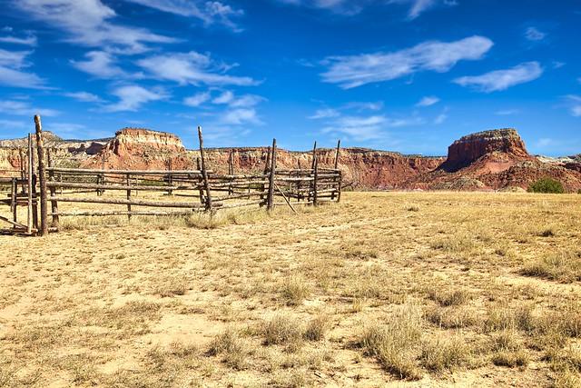 Southwest Corral. Abiquiu, New Mexico
