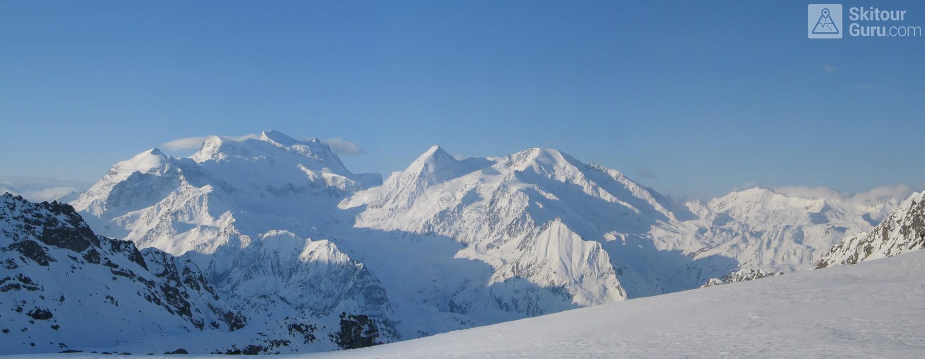 Grand Combin Walliser Alpen / Alpes valaisannes Schweiz panorama 05