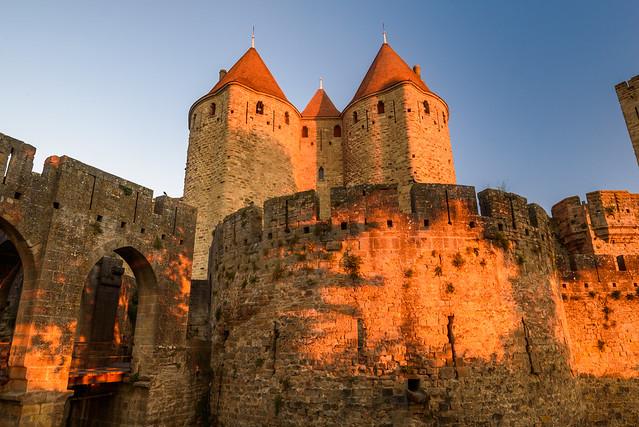 Carcassonne - La Cité - Porte Narbonnaise