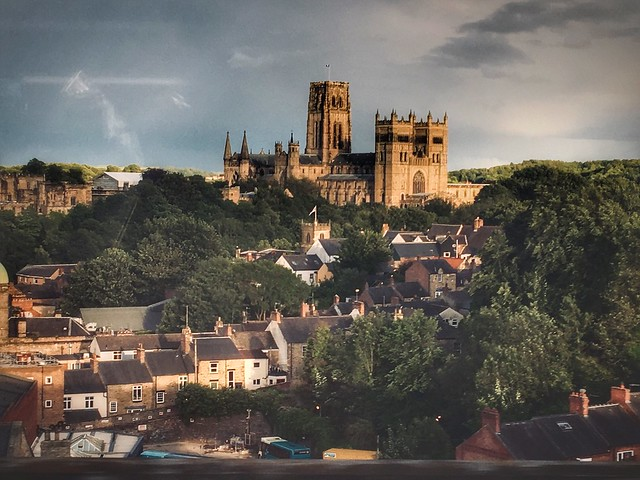 Durham from the train window