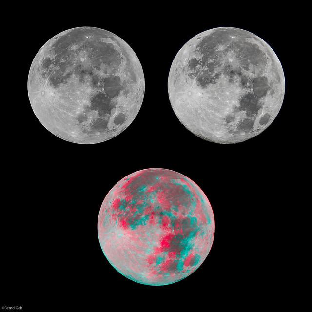 Moon in 3D