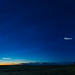 Dawn Sky Panorama with NLCs (with Labels) (July 5, 2020)