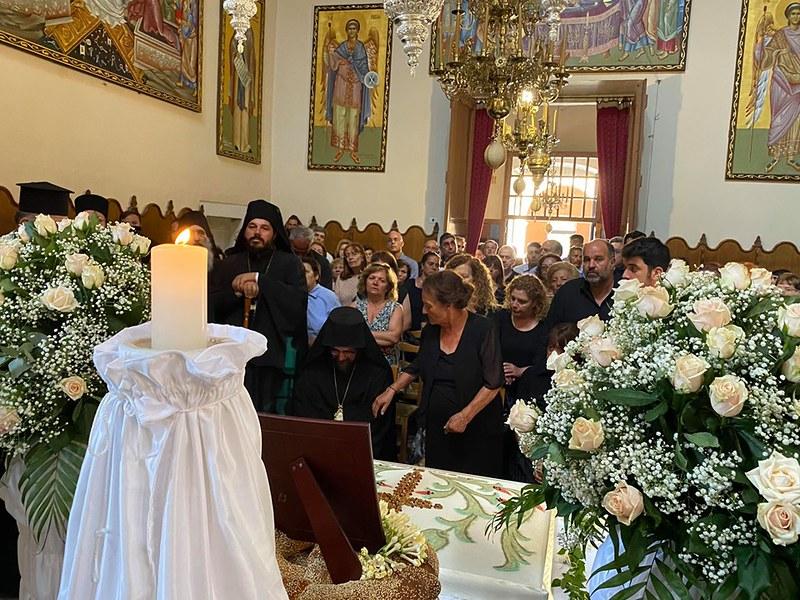 Τεσσαρακονθήμερο Πολιαρχιερατικό μνημόσυνο Θεοχάρους Λιονάκη