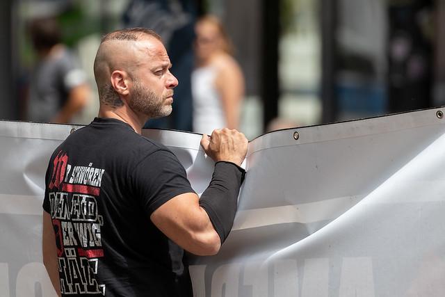 04.07.2020 – Kundgebungstour von Neonazis durch die Südwestpfalz