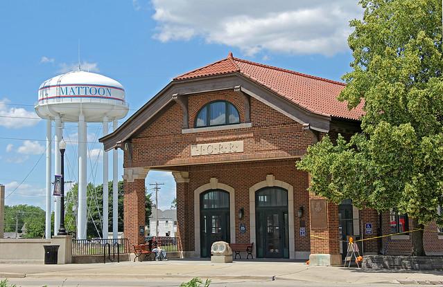 Mattoon's Illinois Central Station