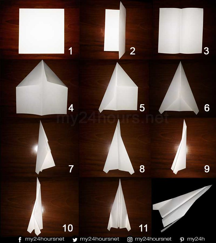 Cara Membuat Pesawat Kertas yang Baik