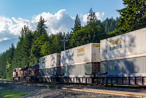 BNSF Train - Stevens Pass | by PR Photography