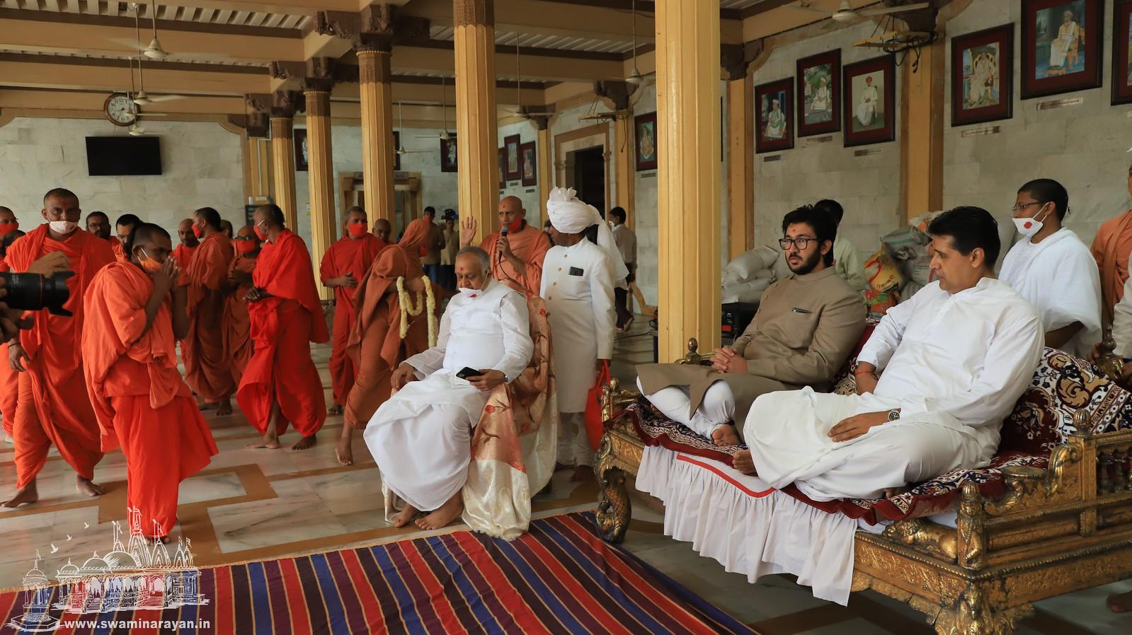 Guru Poornima Celebrations - Kalupur Mandir