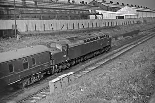 Crewe Works, 1966