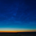 Noctilucent Cloud Panorama at Dawn (July 5, 2020)
