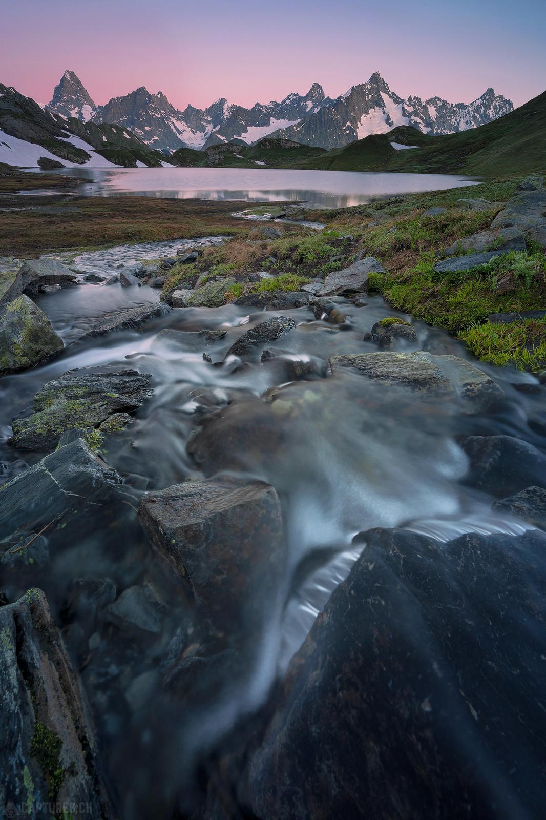 River flow - Lacs de Fenetre