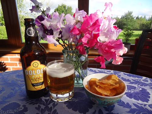 Golden Ale on a Golden Evening in the Golden Valley | by Mary Loosemore