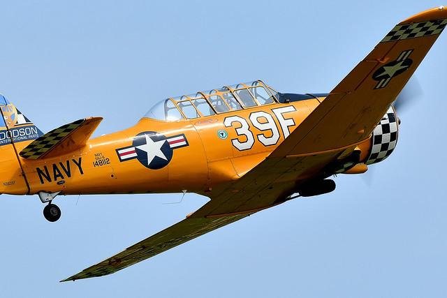 North American SNJ-6 Texan N3639F 148112 US Navy