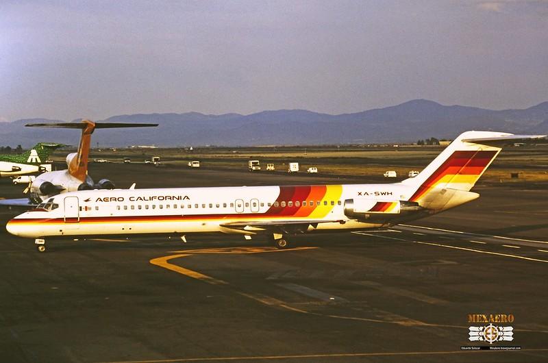 Aero California / McDonnell Douglas DC-9-32 / XA-SWH
