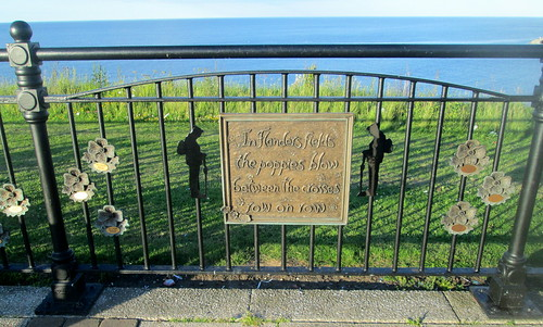 Seaham, County Durham, War Memorial Fence 1