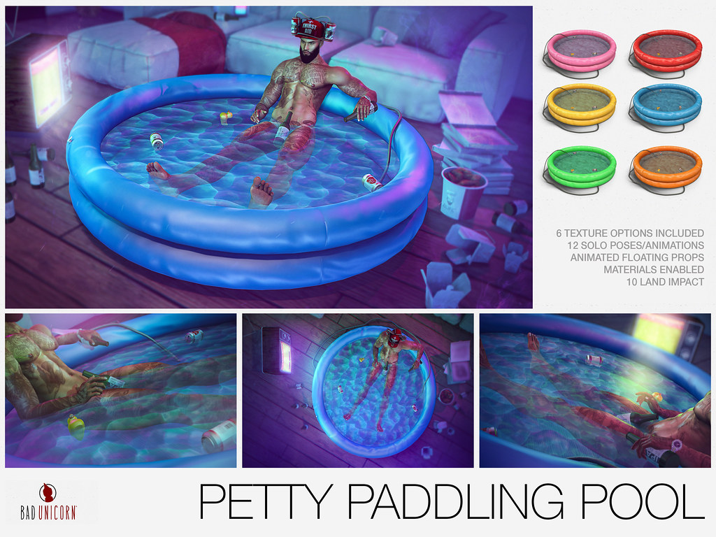NEW! Petty Paddling Pool @ TMD