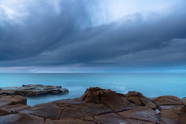 After the Rain Coastal Sunrise Seascape