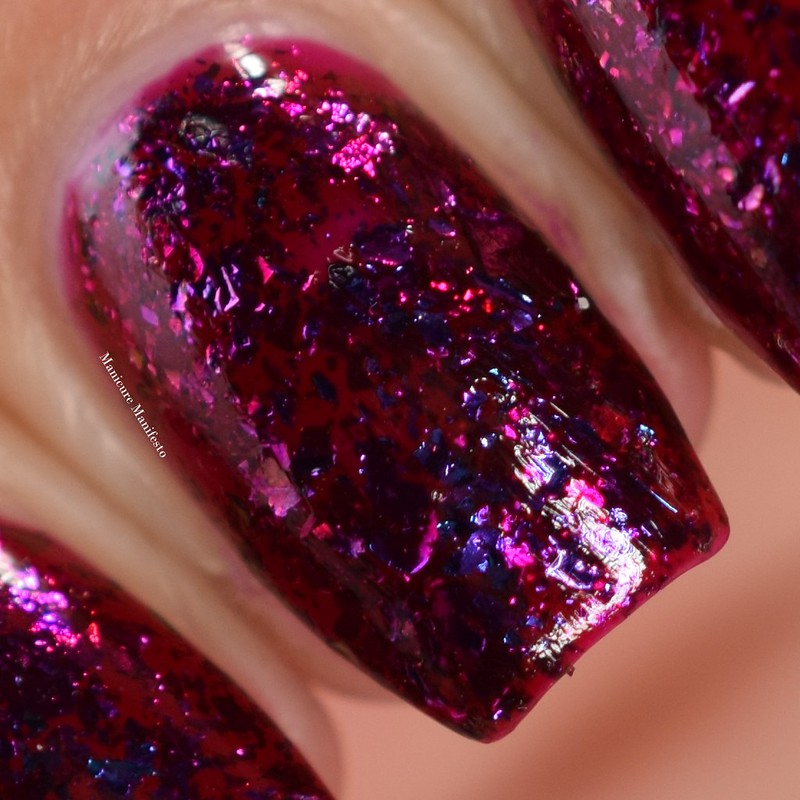Paint It Pretty Polish Raspberry Sunsets swatch