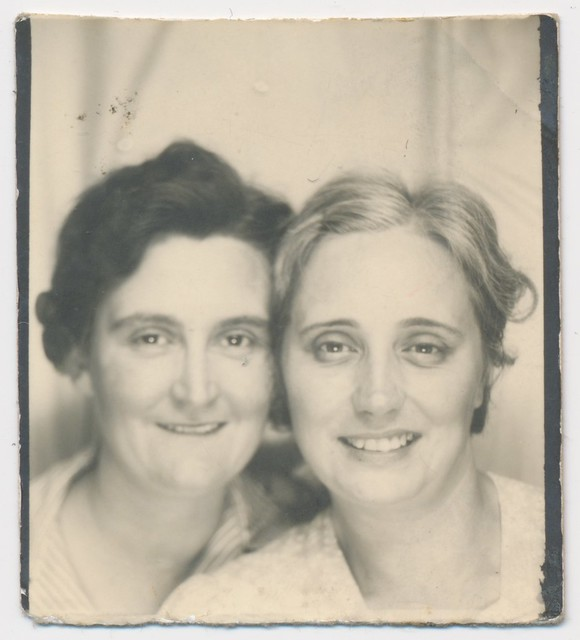 1943 or so - Esther and Ilene
