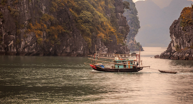 Another Boat at Ha Long Bay