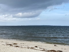 Dauphin Island From Across Mobile Bay