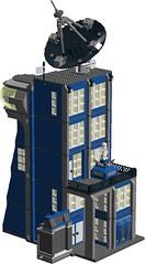 Classic Space command building - v4 skyscraper - front