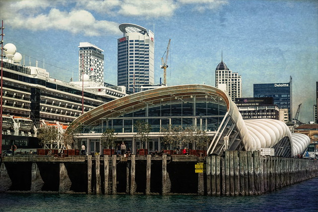 'The Cloud' on Queens Wharf - Auckland, NZ  ** Explored **