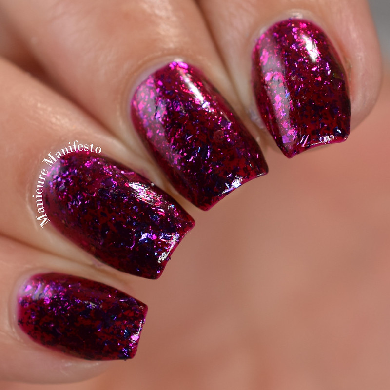 Paint It Pretty Polish Raspberry Sunsets review